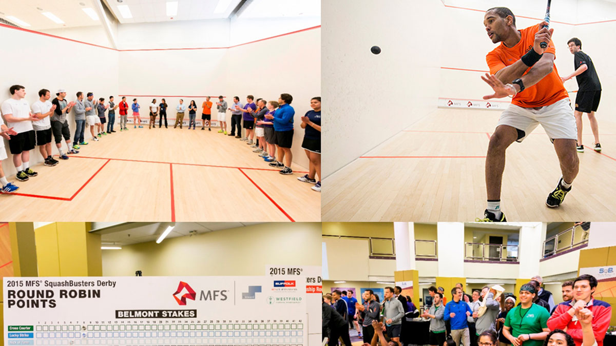 Bain Capital continues its long-standing support of SquashBusters at its annual Derby event