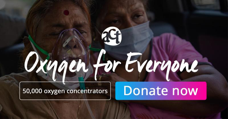 Oxygen Support for India