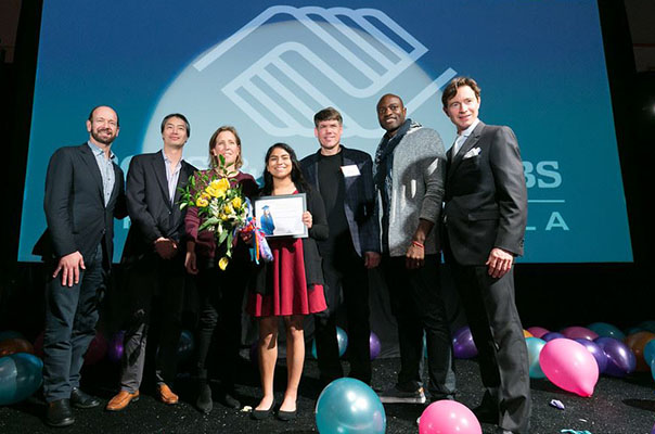 Bain Capital Ventures' Managing Director judges the Boys & Girls Club of the Peninsula's 2017 Youth of the Year Competition