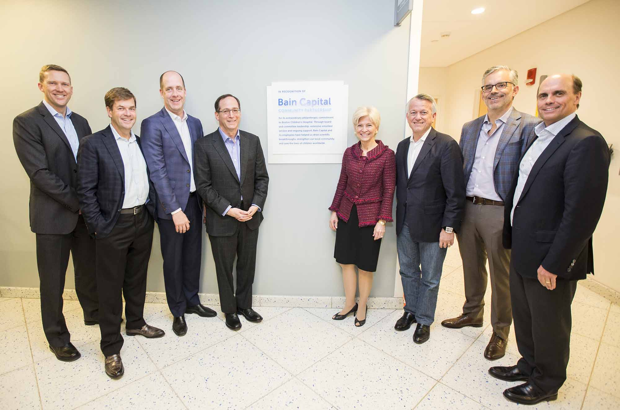 Boston Children's Hospital and Bain Capital Celebrate Their Partnership