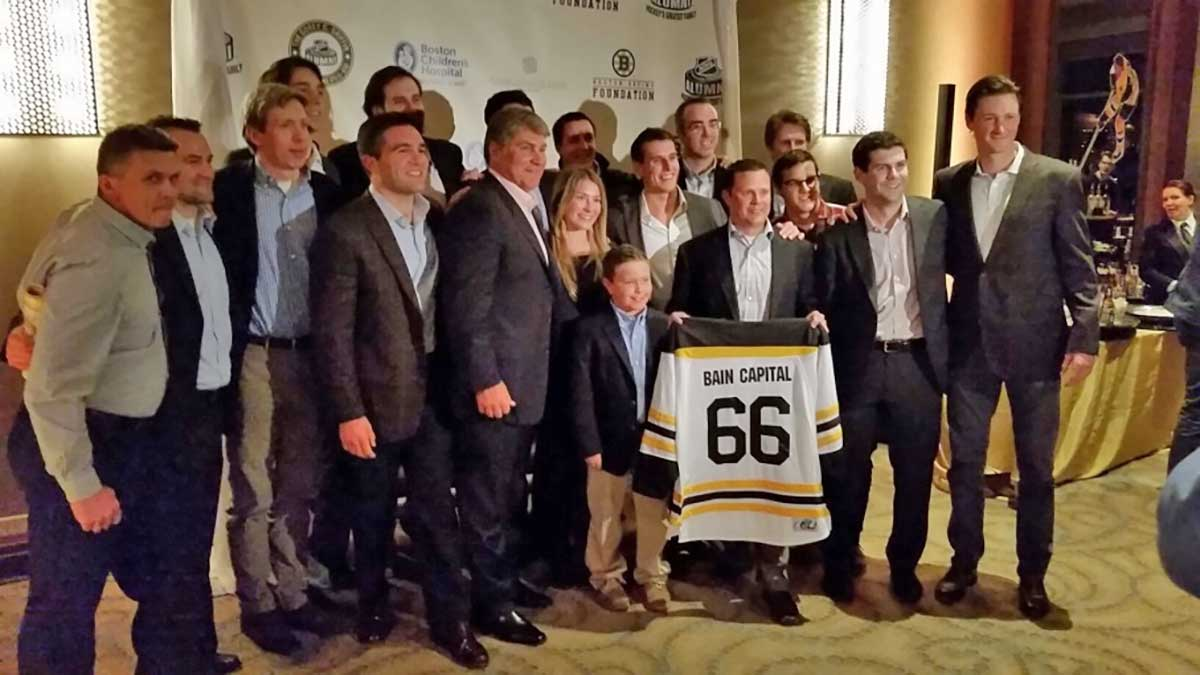 Bain Capital hockey team raises more than $180,000 in Corey C. Griffin NHL Alumni Pro-Am benefitting Boston Children's Hospital