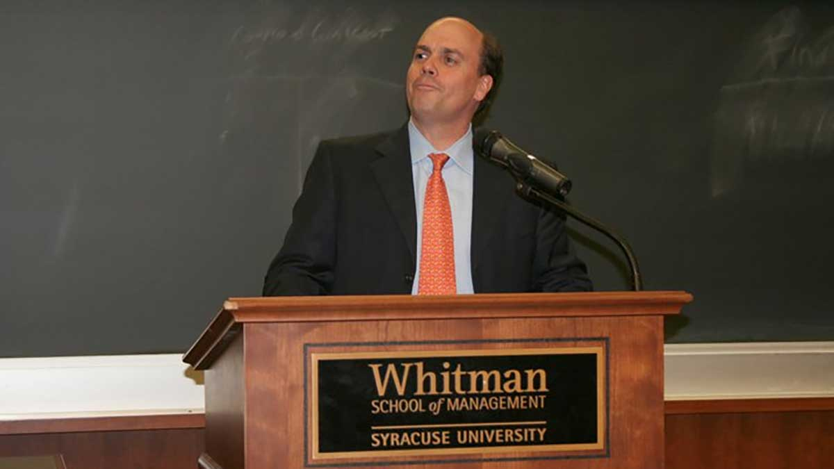 Bain Capital's Steve Barnes to serve as Chairman of Syracuse University's Board of Trustees