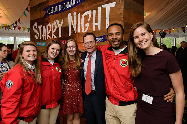 Bain Capital Sponsors City Year Boston Starry Night Gala and City Year UK Red Jacket Dinner