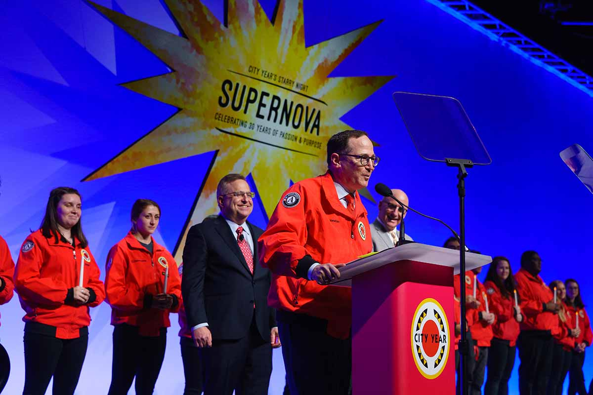 Bain Capital Sponsors City Year Boston's Starry Night Supernova, Jonathan Lavine Receives Legacy Award