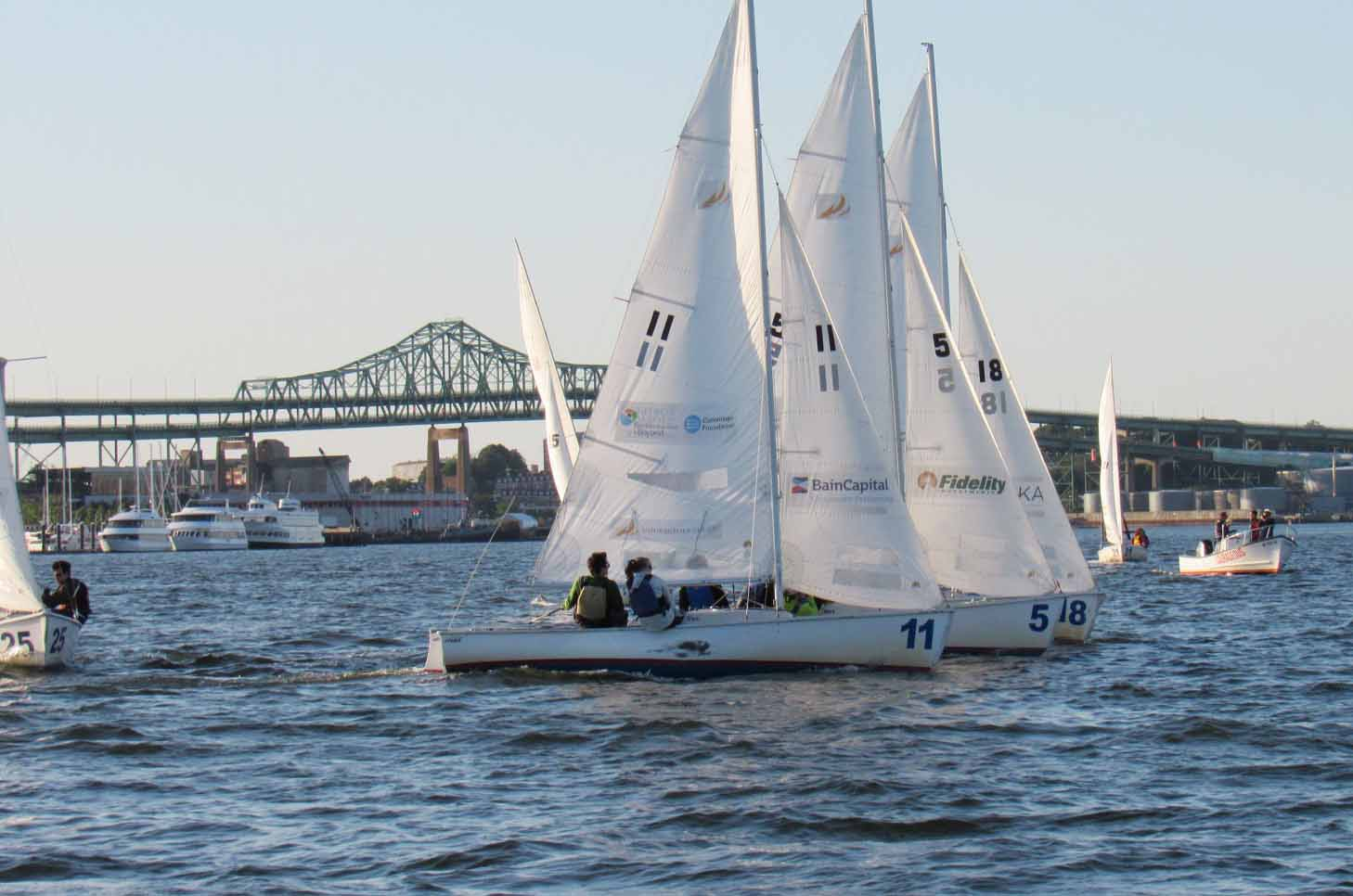 Bain Capital Wins Courageous Sailing Corporate Cup for Second Year in a Row