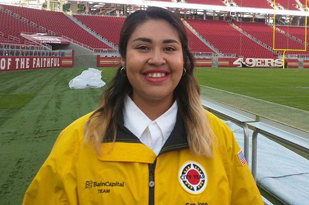 City Year Corps Member of the Month - April: Crismerly Santibañez