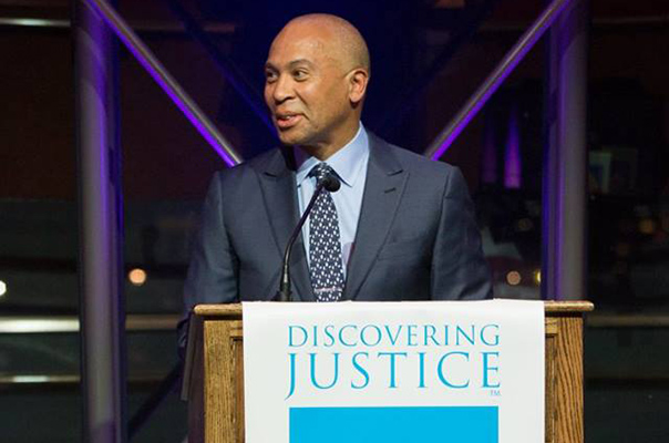 Bain Capital Managing Director Deval Patrick and Wife Diane Honored as 2017 Champions of Justice at the Celebration of Civic Education Gala