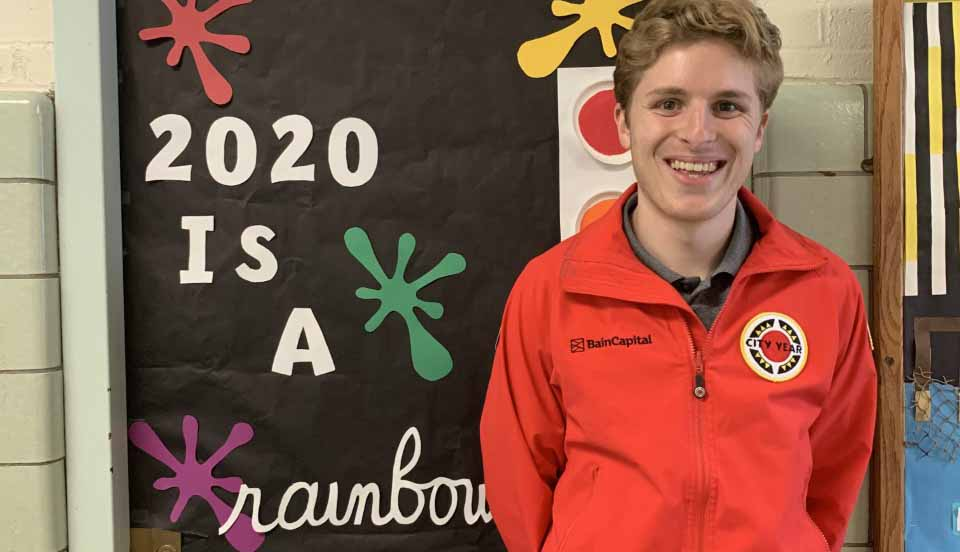 City Year Corps Member of the Month - February 2020: Danny Horwitz