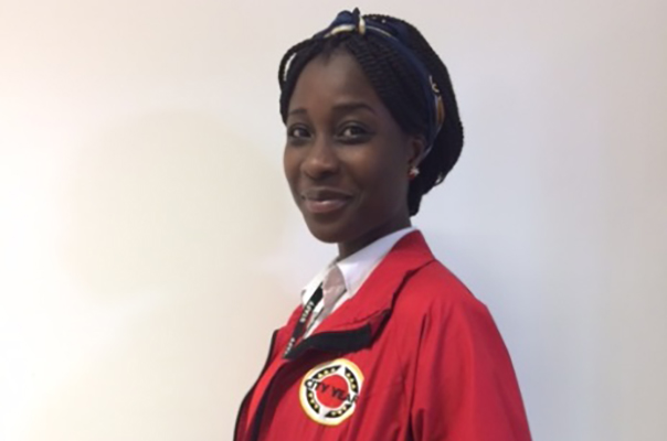 City Year Corps Member of the Month - June: Goldust Afriyie