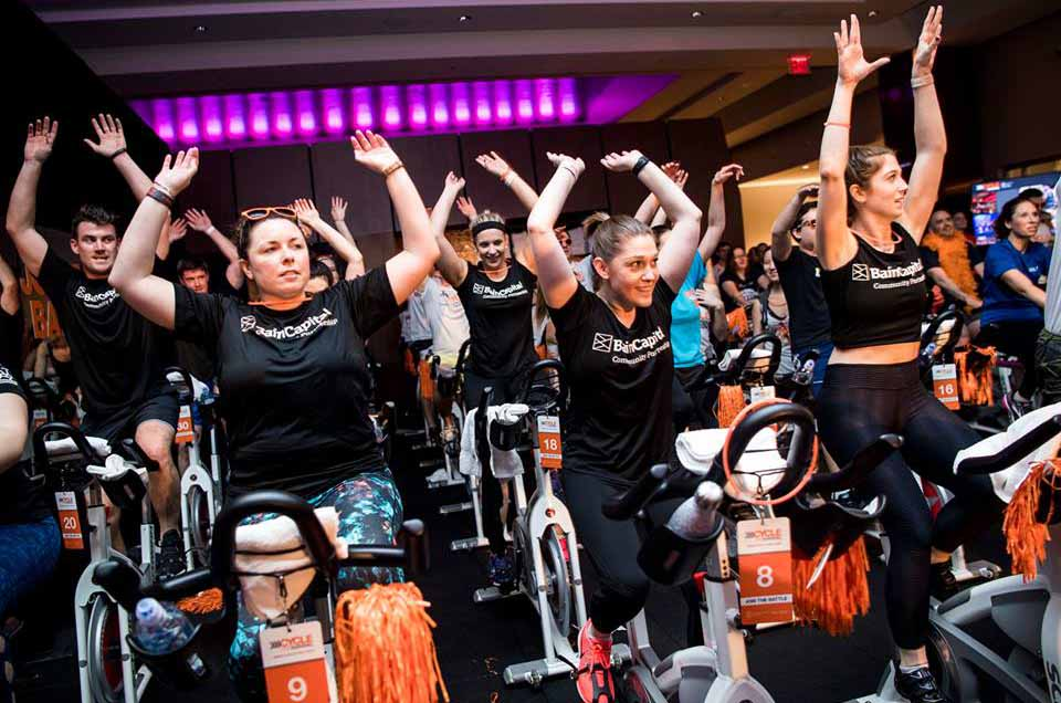 Team Bain Capital One of Top Ten Fundraising Teams for Cycle for Survival