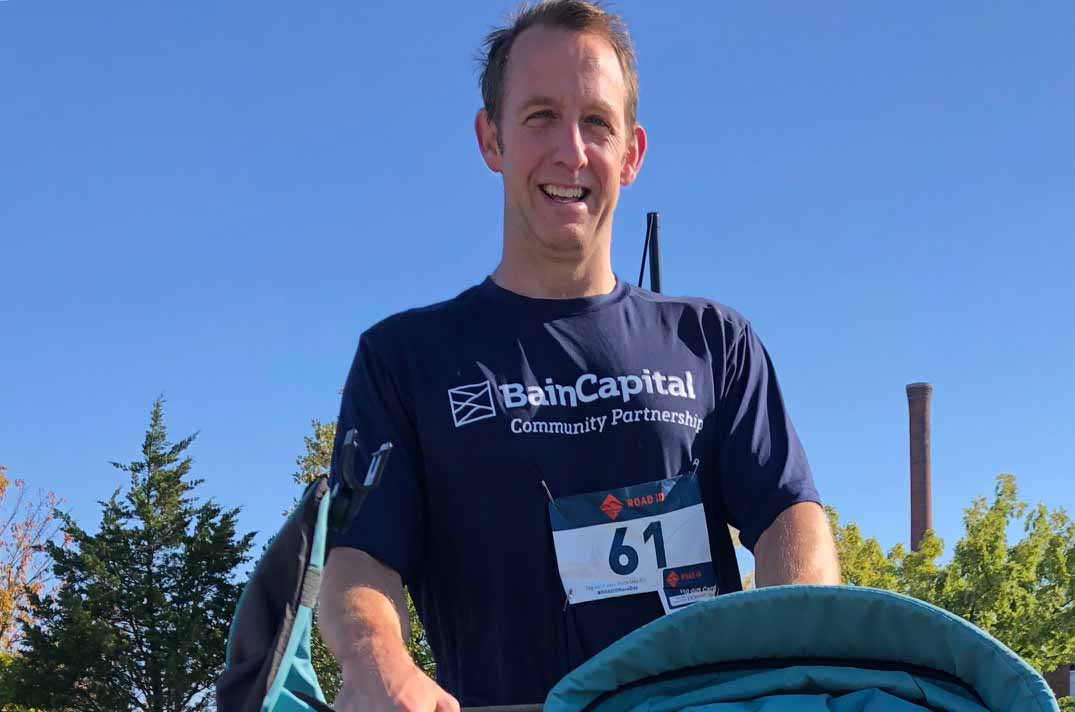 Bain Capital Employee Greg Hegerich Runs 5K in Support of DCF Wonderfund
