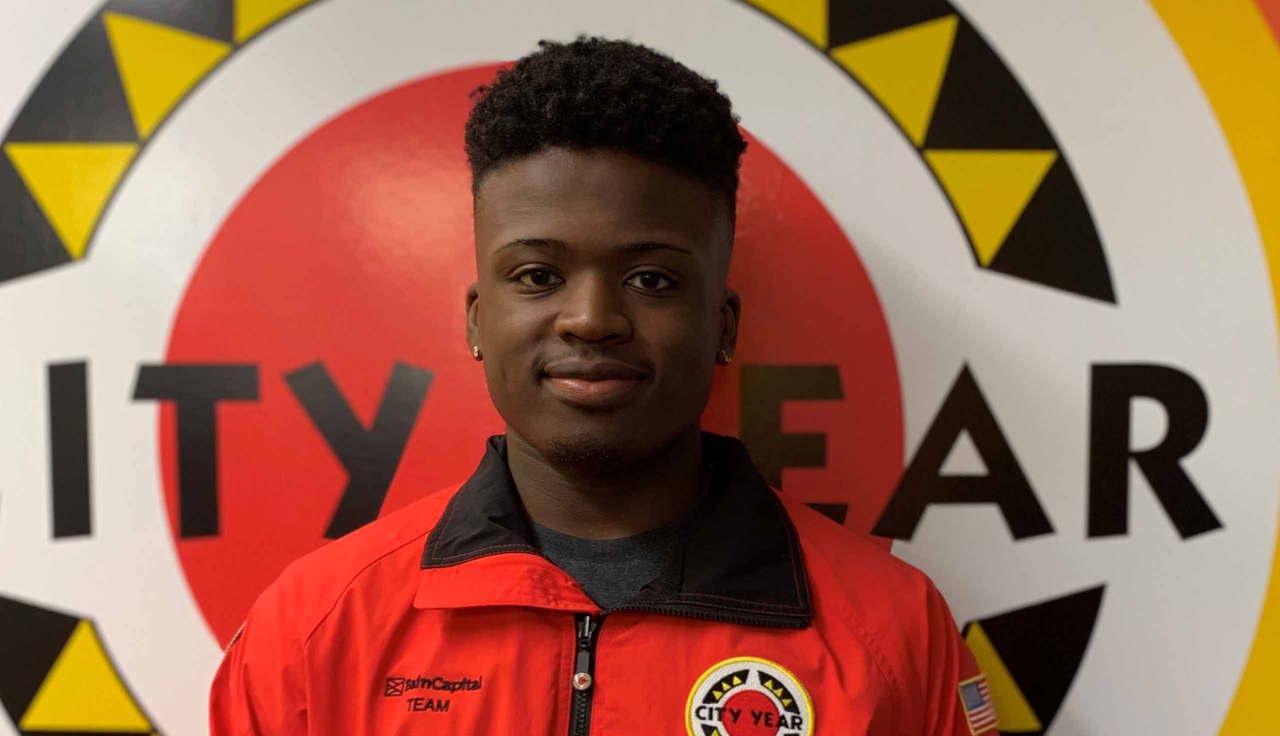 City Year Corps Member of the Month - December 2019: Isaiah Dawson