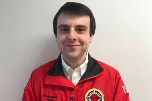 City Year Corps Member of the Month - November 2017: Joshua Paquette