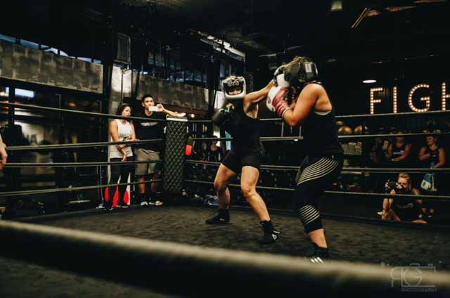 Bain Capital Employee Lauren Weisharr Participates in Haymakers for Hope – Belles of the Brawl VI Charity Boxing Tournament