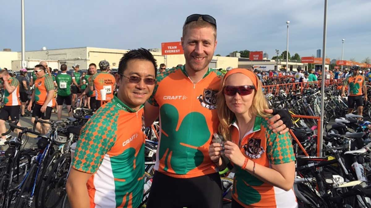 Liam's Lucky Charms rides in Bike MS and tops the $1.6M mark in total fundraising with more than $350,000 raised this year