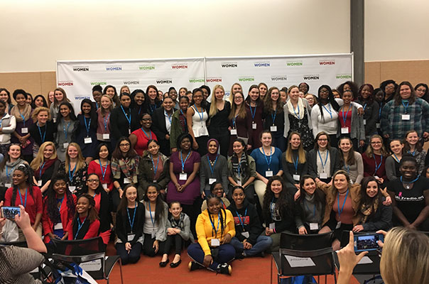 Bain Capital sponsors the Young Women's Program at the 2016 Massachusetts Conference for Women