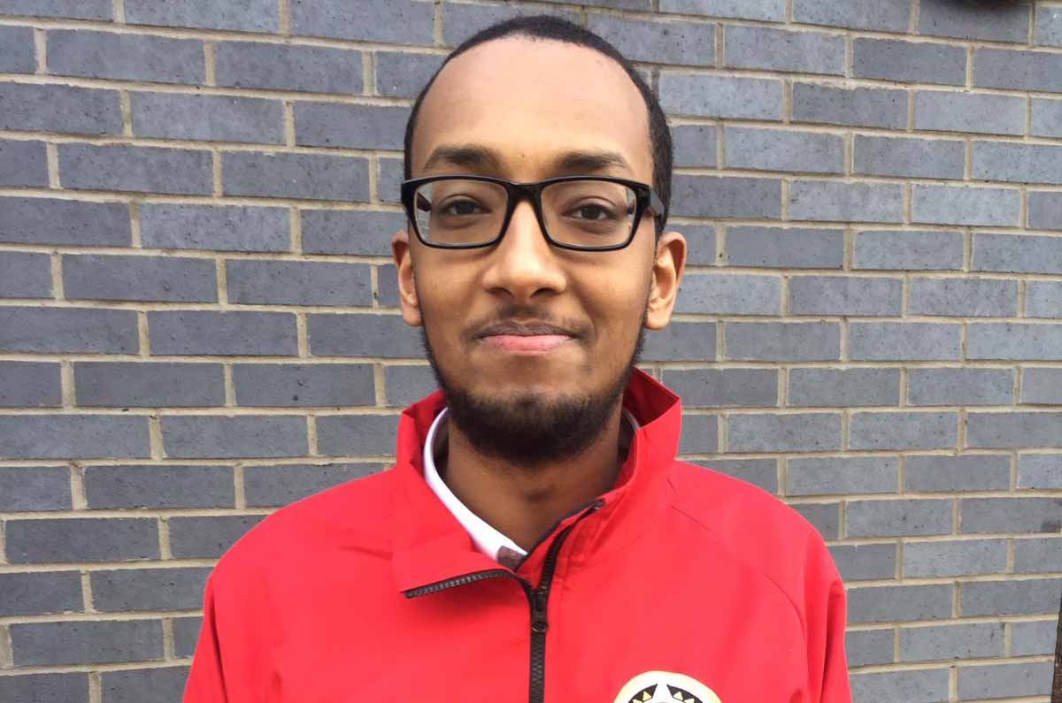 City Year Corps Member of the Month: June 2019: Mohammed Abdulkadir