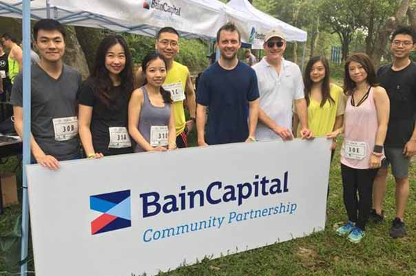 Bain Capital Teams Run to Fight Modern Day Slavery in Peak24 Relay Race