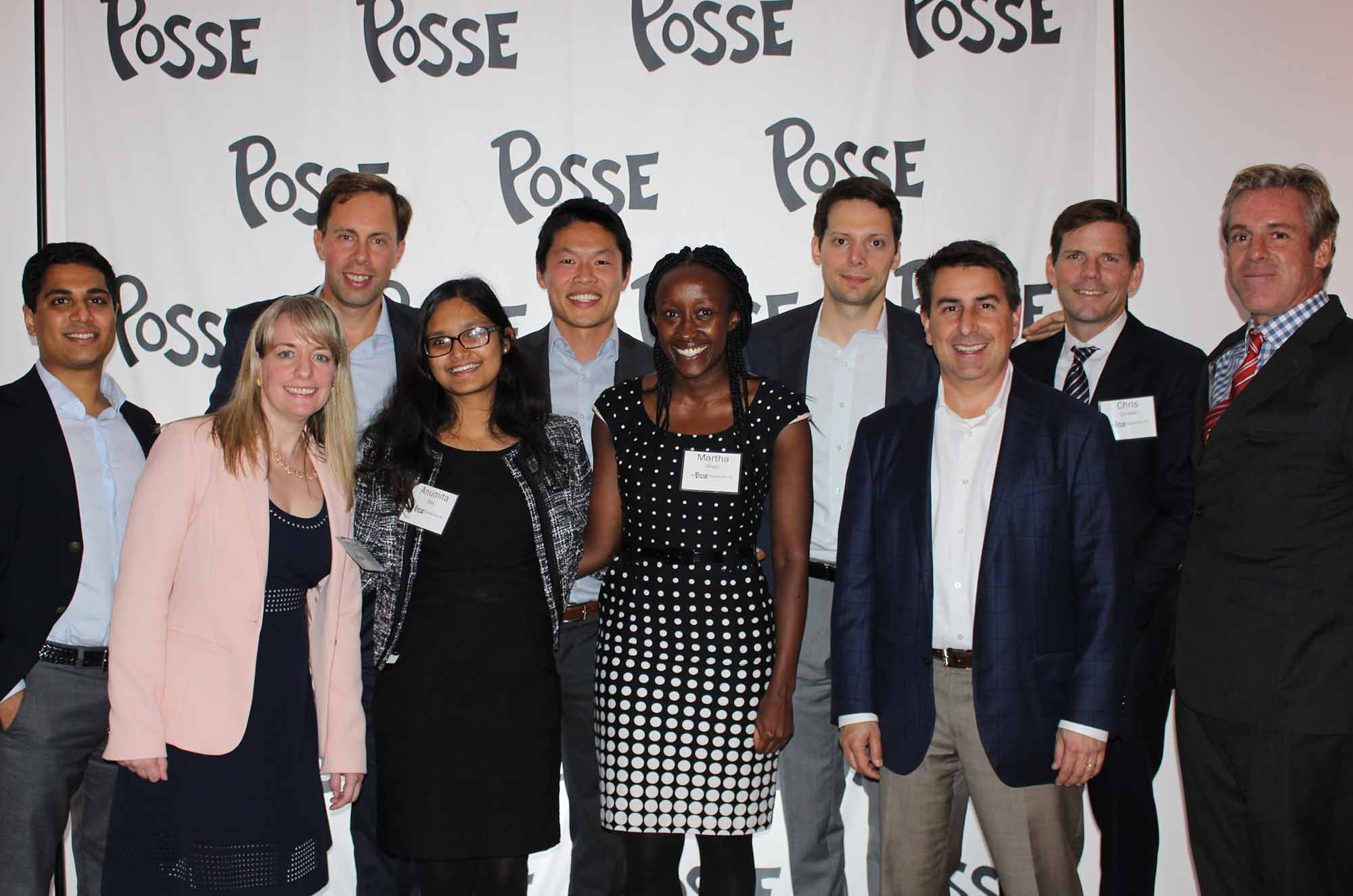 Bain Capital Double Impact Honored at Posse Foundation Power of 10 Event