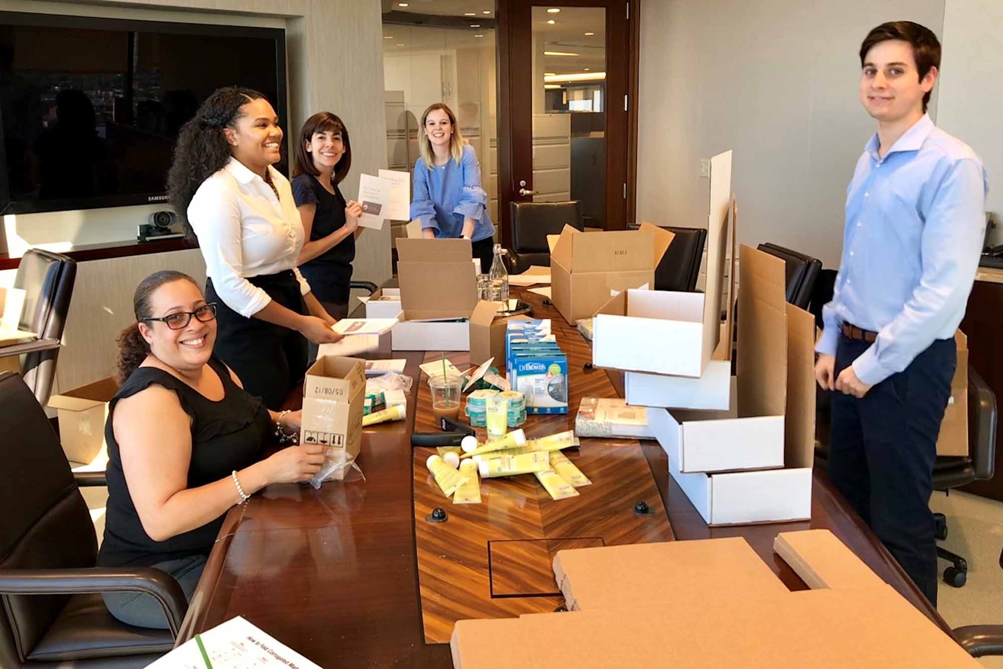 Bain Capital Procurement Team Assembles Packages for Opioid-Dependent Caretakers