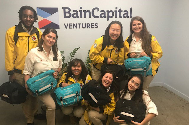 Bain Capital Ventures hosts City Year San Jose in the San Francisco Office