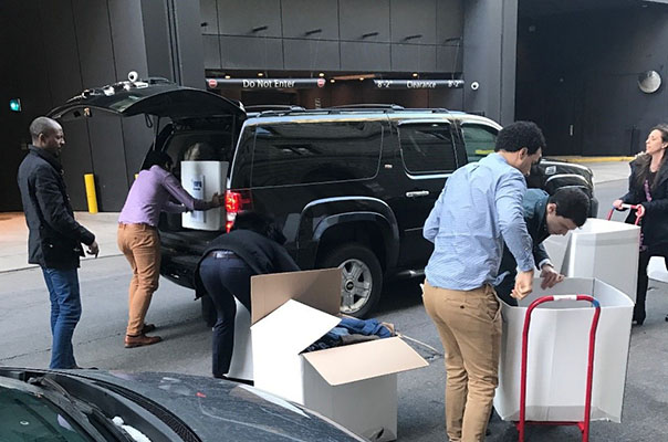 Bain Capital Boston Office Held a 2-week Clothing Drive to Benefit Year Up and Cradles to Crayons