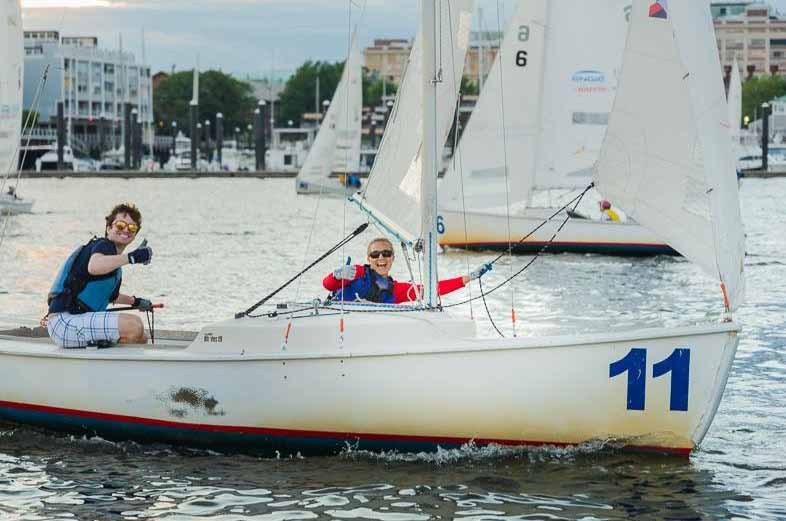 Bain Capital Community Partnership Wins Courageous Sailing Corporate Challenge